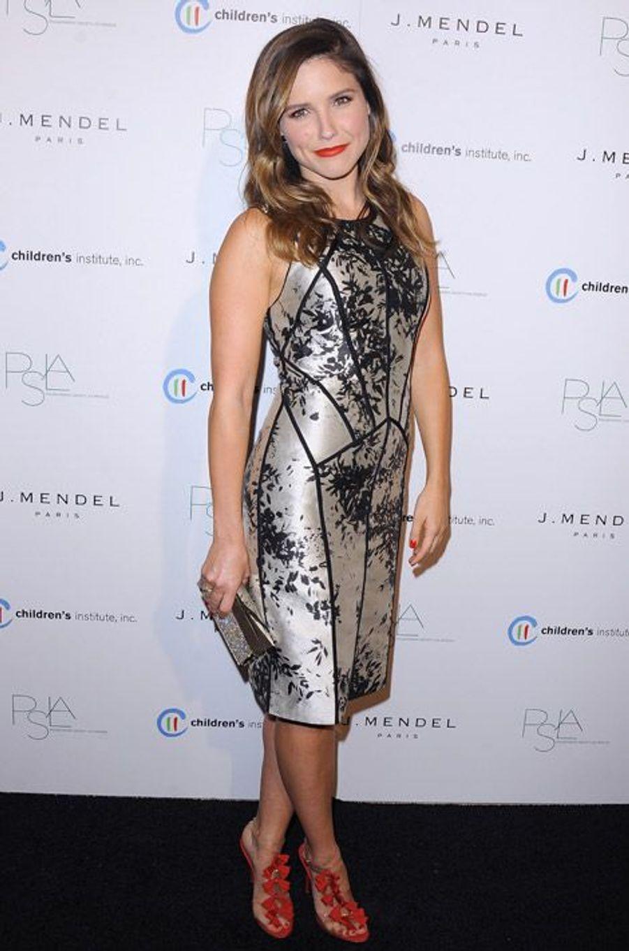 """Look brillant pour le gala """"Children's Institute"""" à Los Angeles, en octobre 2012"""