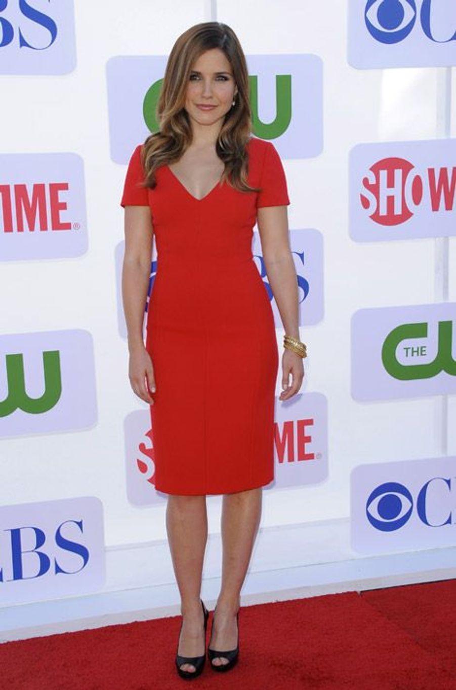 Rougle glamour à Beverly Hills, en juillet 2012