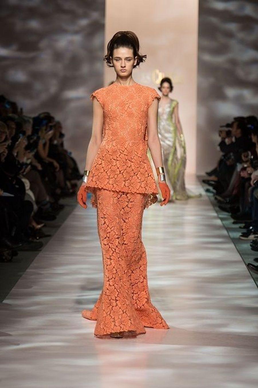 Défilé Haute Couture printannier pour Georges Chakra
