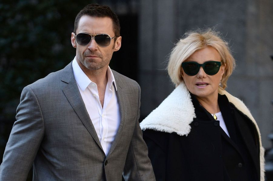 Hugh Jackman et sa femme