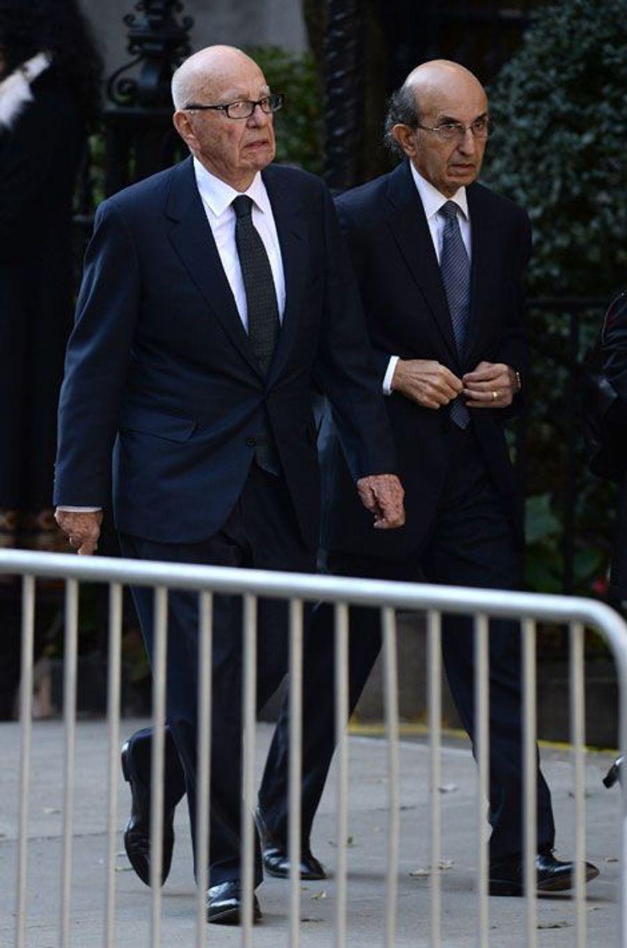 Rupert Murdoch et Joel Klein