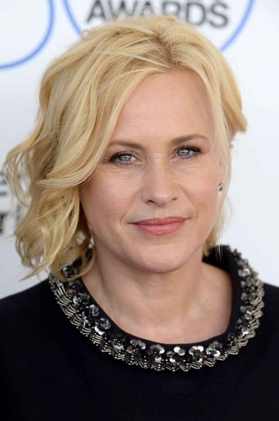 L'actrice oscarisée, Patricia Arquette et ses cheveux blonds courts