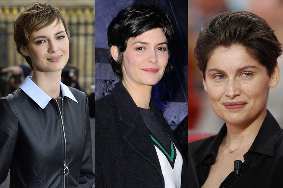 Louis Bourgoin, Audrey Tautou, Laetitia Casta… la tendance est aux cheveux courts