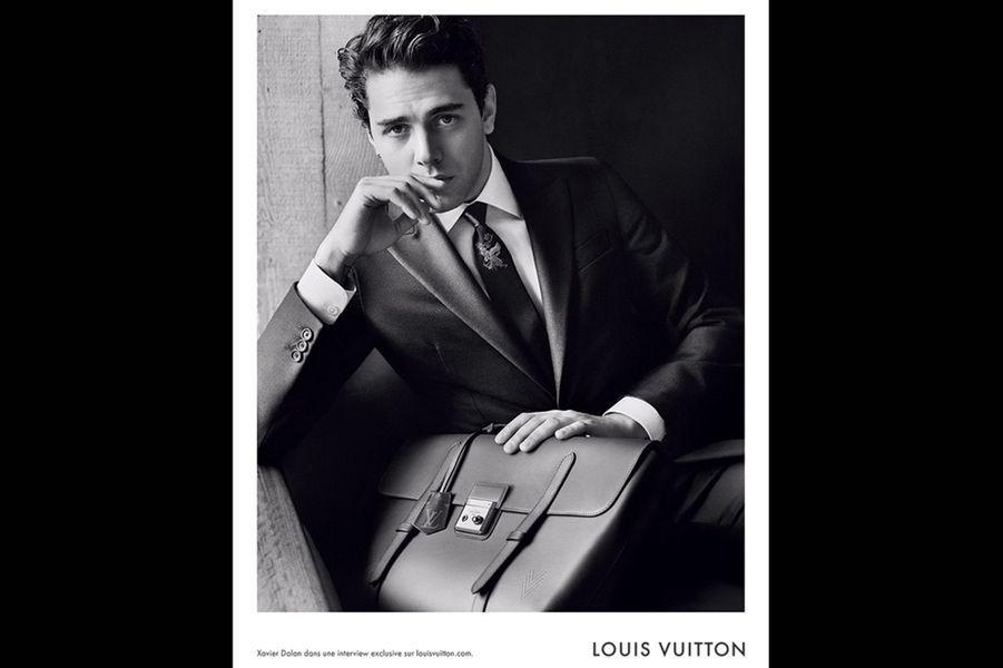 La première campagne de Xavier Dolan pour Louis Vuitton, diffusée en septembre 2015