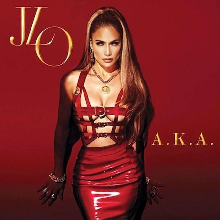 Jennifer Lopez pose pour la pochette de son dernier album, A.K.A