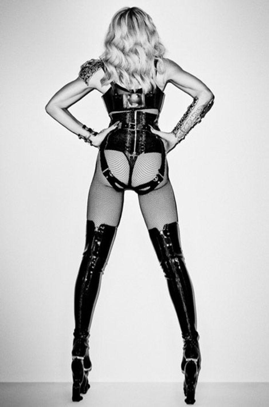 Madonna pose pour le photographe de mode, Terry Richardson