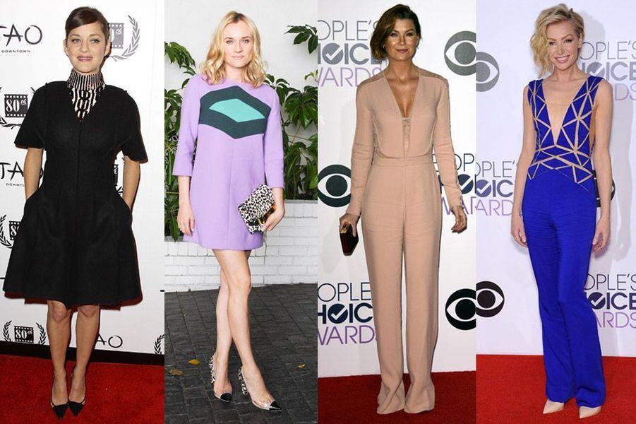 Marion Cotillard, Diane Kruger, Ellen Pompeo : les plus beaux looks de la semaine du 4 au 10 janvier 2015