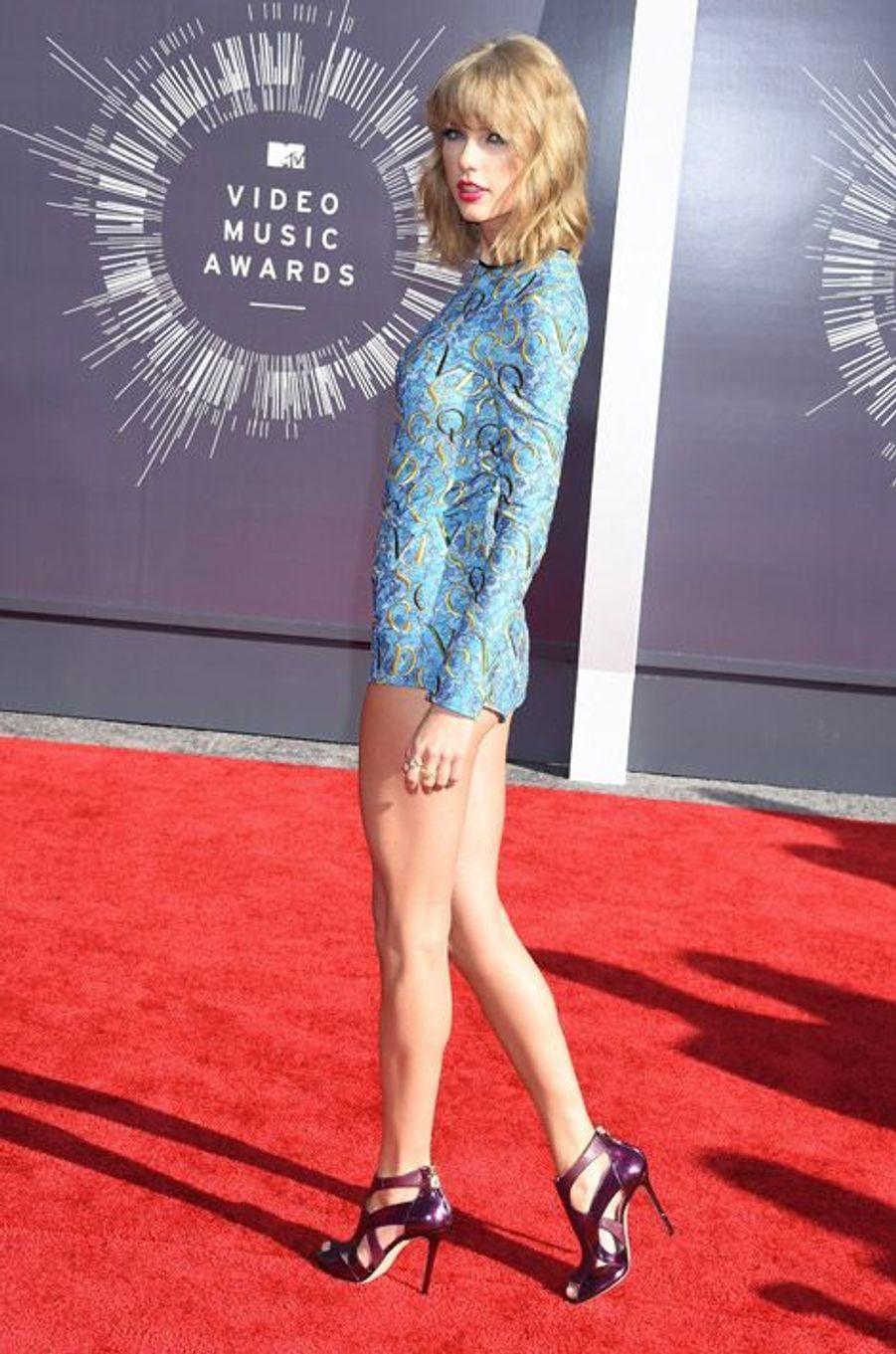 La chanteuse Taylor Swift lors des MTV Video Music Awards, le 24 août 2014