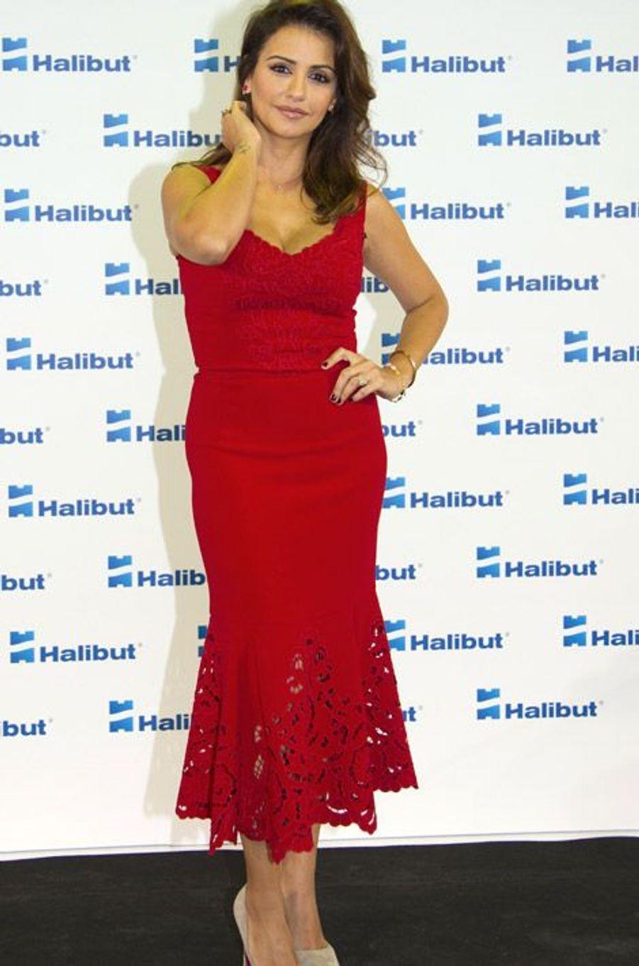 L'actrice espagnole Monica Cruz à Madrid, le 14 octobre 2014
