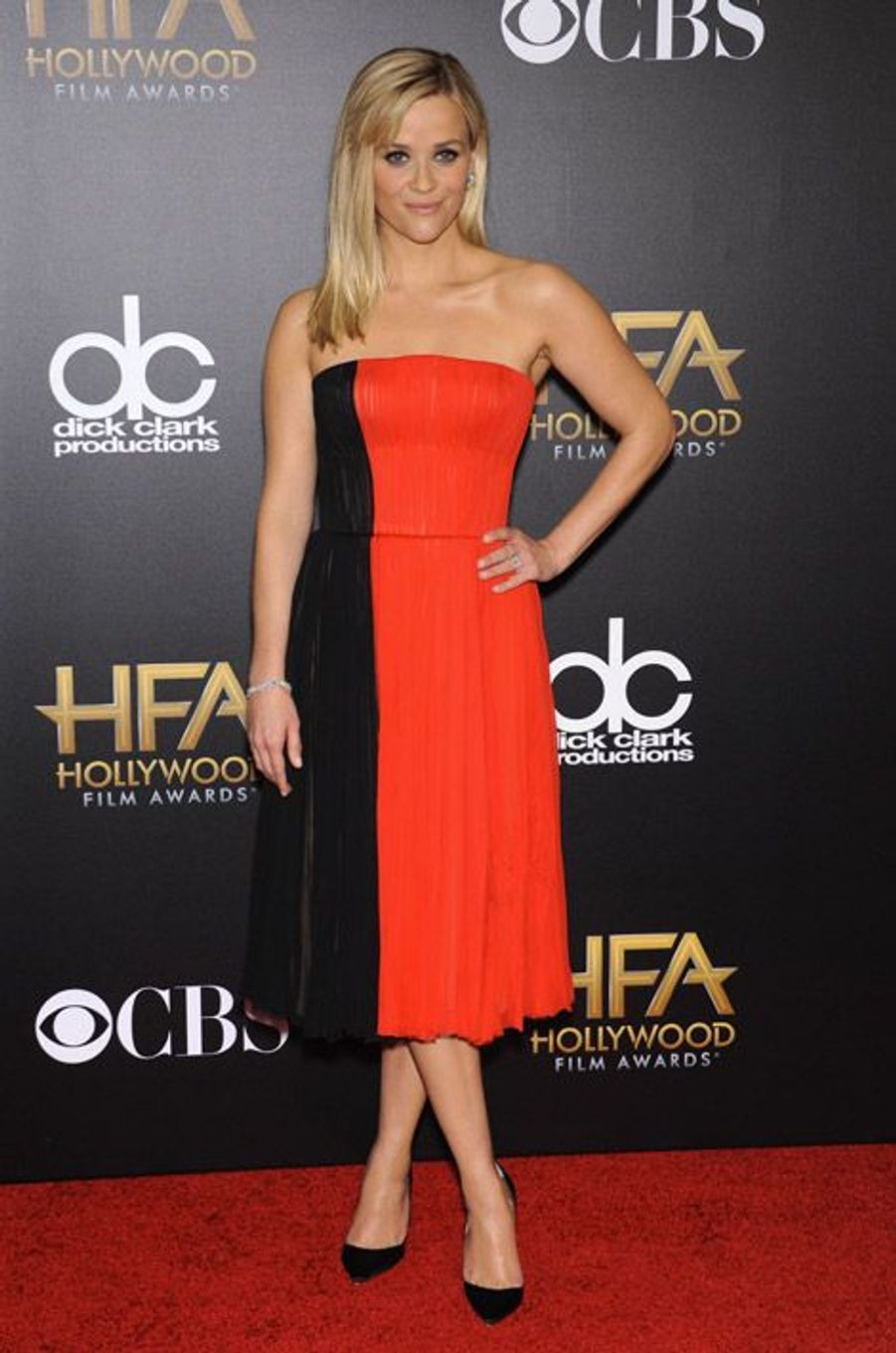L'actrice Reese Witherspoon lors de la soirée des Hollywood Film Awards à Los Angeles, le 14 novembre 2014