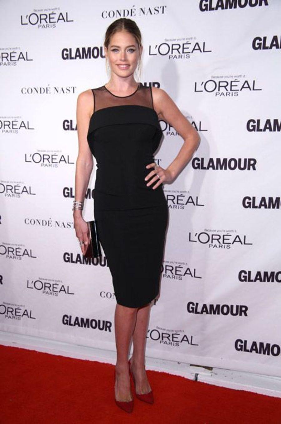 L'actrice Doutzen Kroes lors de la soirée Glamour Women of the Year 2014, à New York, le 10 novembre 2014