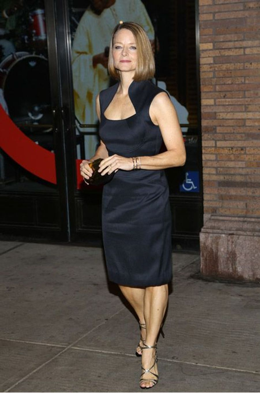 L'actrice Jodie Foster lors de la soirée Glamour Women of the Year 2014, à New York, le 10 novembre 2014