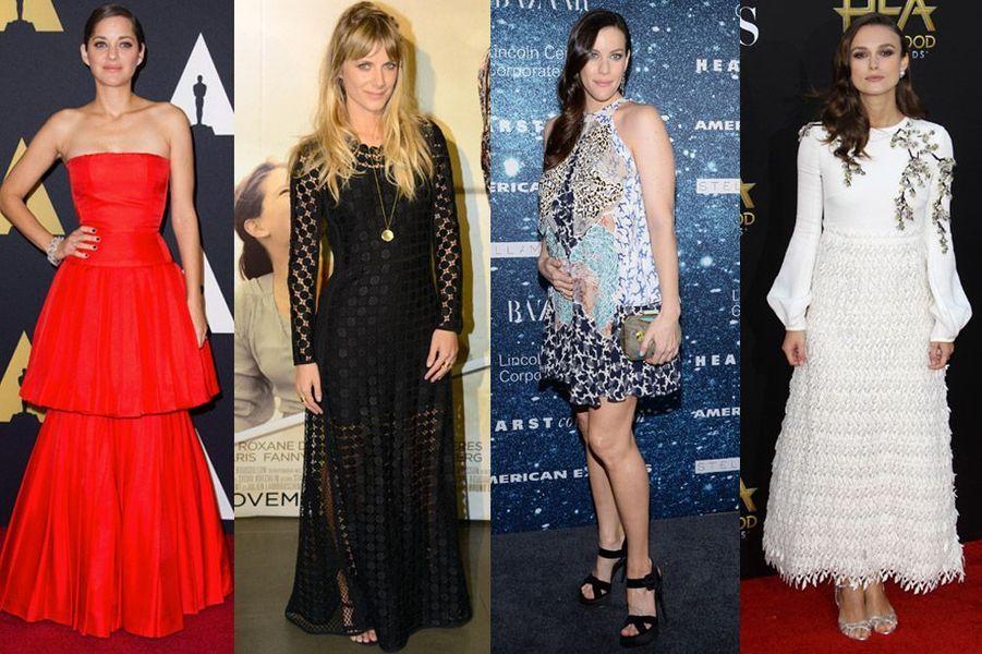 Marion Cotillard, Mélanie Laurent, Liv Tyler, Keira Knightley : les plus beaux looks de la semaine du 10 au 16 novembre 2014