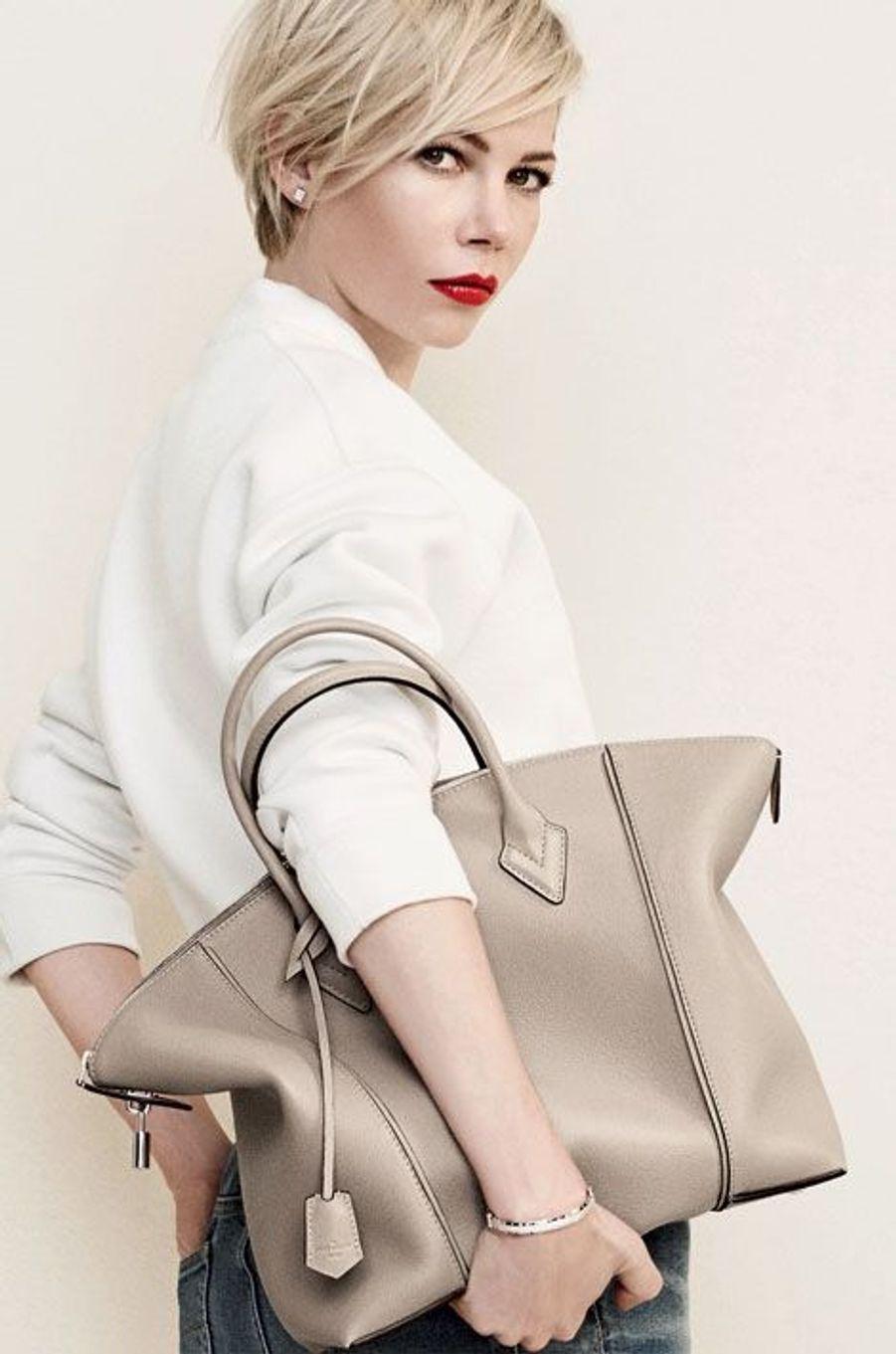 Michelle Williams, sensuelle pour Vuitton