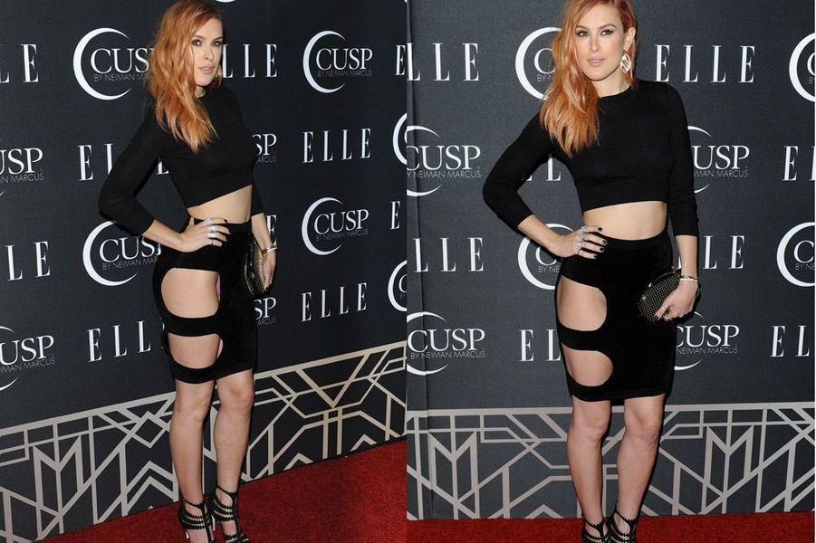 Rumer Willis, la fille de Bruce Willis, à la soirée Elle Women in Music à Hollywood, le 22 avril 2014