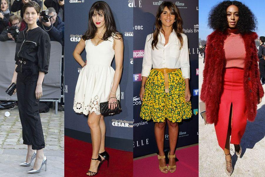 Mode 2015 : Laetitia Casta, Nolwenn Leroy, Géraldine Nakache, Solange Knowles... Les stars adoptent déjà les tendances de l'été