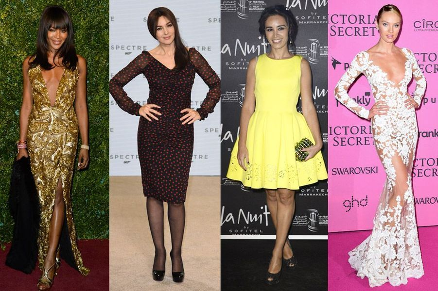 Naomi Campbell, Monica Bellucci, Aïda Touihri, Candice Swanapoel : les plus beaux looks de la semaine