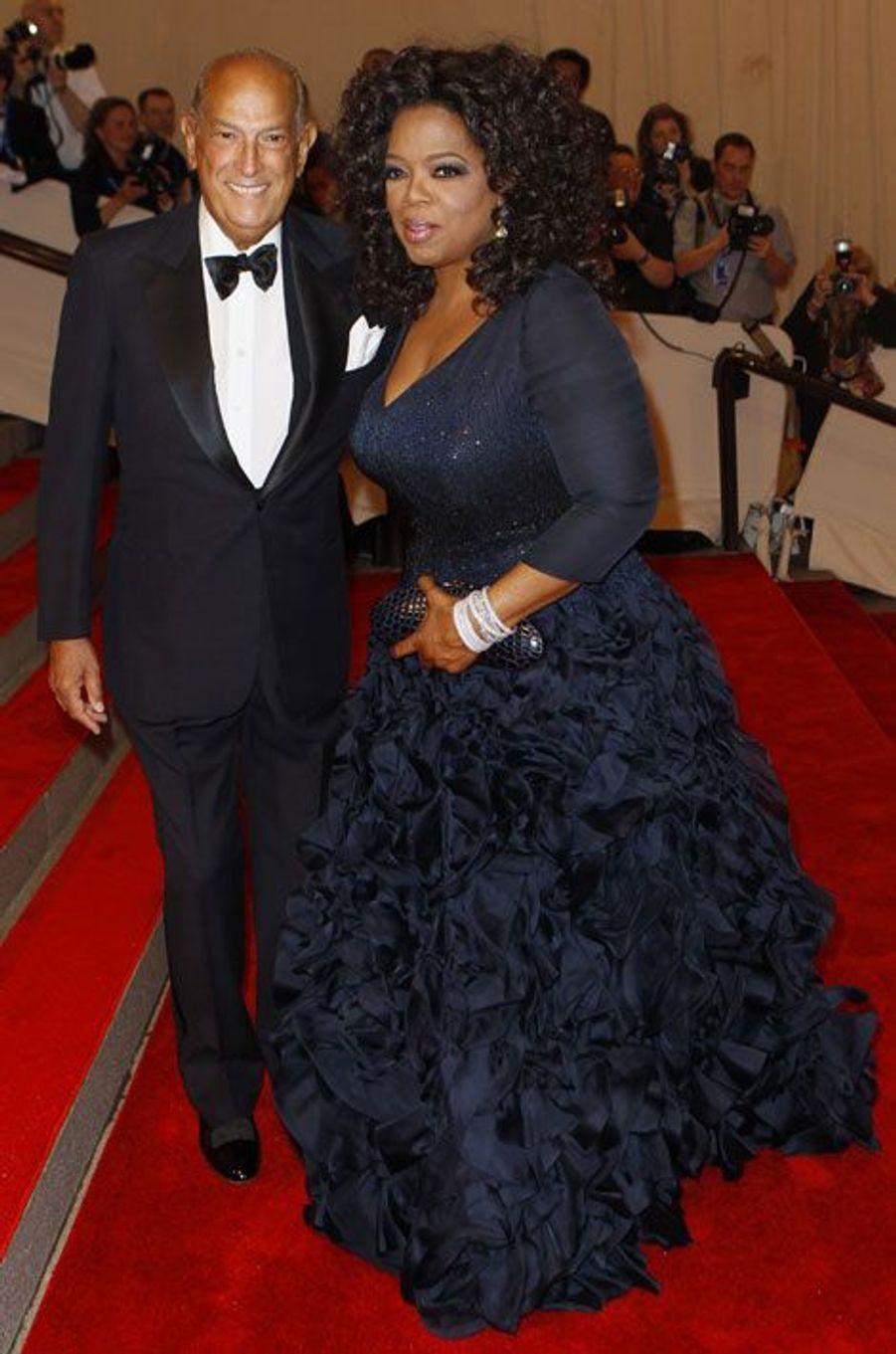 Avec Oprah Winfrey
