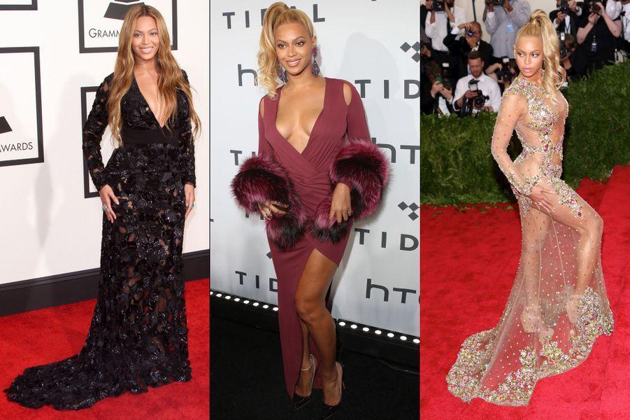 Que ce soit à Los Angeles, Cannes, Pékin ou Londres, les stars ont tout donné sur les tapis rouges. Et chacune avait sa définition du sexy: le total look transparence pour Jennifer Lopez, le dos nu pailleté de Léa Seydoux ou encore le décolleté plongeant pour Salma Hayek... A vous de voter pour la star la plus sexy sur tapis rouge, en attribuant une à cinq étoiles aux 15 actrices et chanteuses sélectionnées.A lire:Les confidences de Camille, la soeur et styliste de Léa SeydouxA voir:Votez pour la plus belle tenue du festival de Cannes
