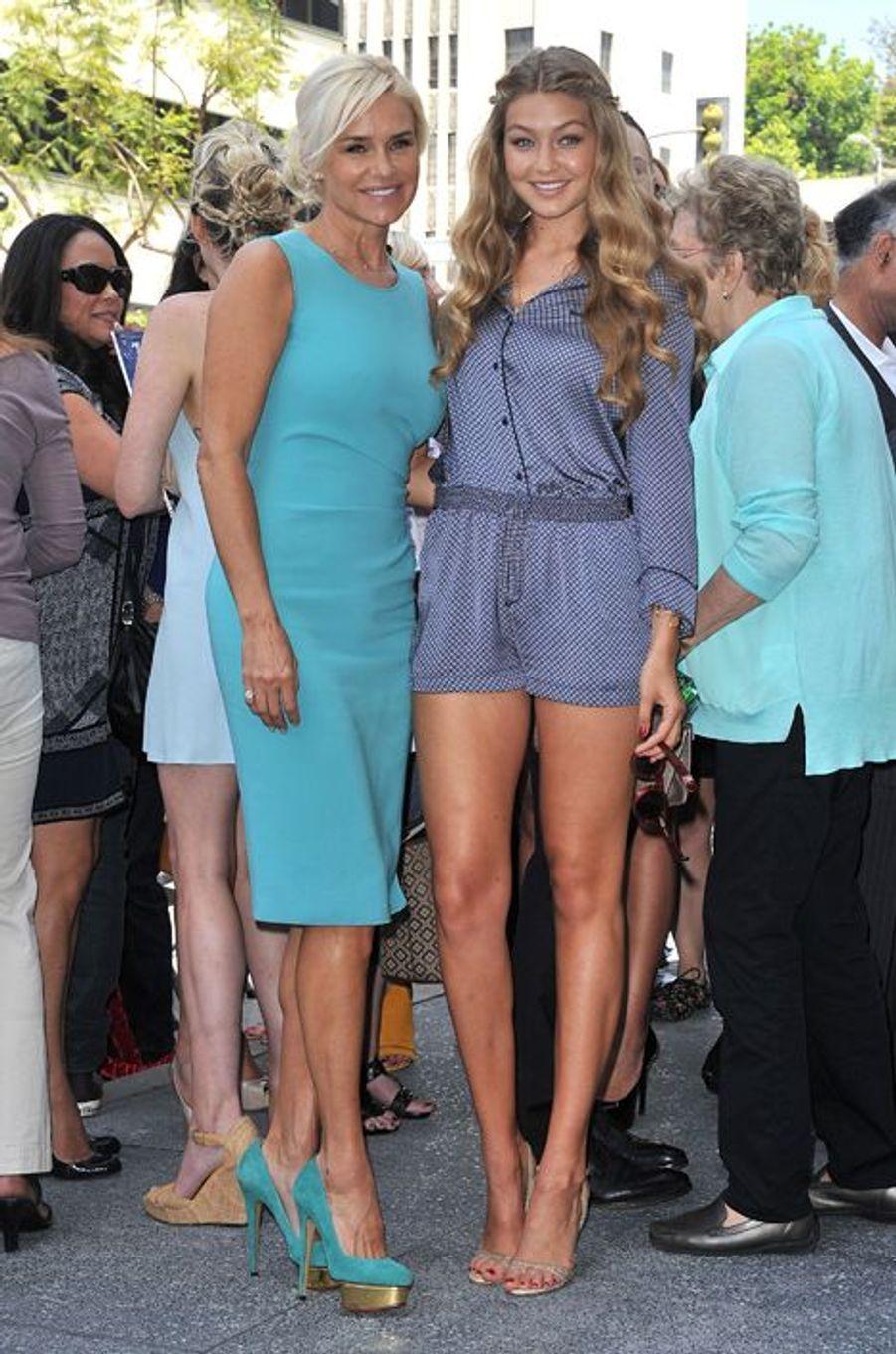 Gigi Hadid et sa mère Yolanda Foster