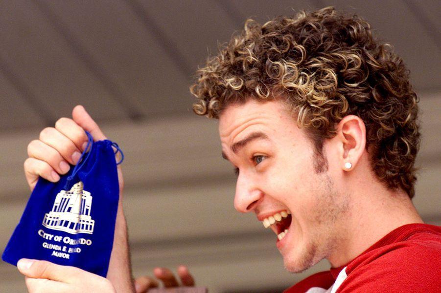 Justin Timberlake en 2000