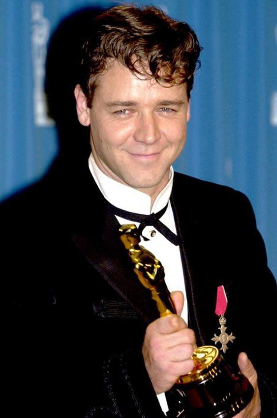 Russell Crowe en 2001