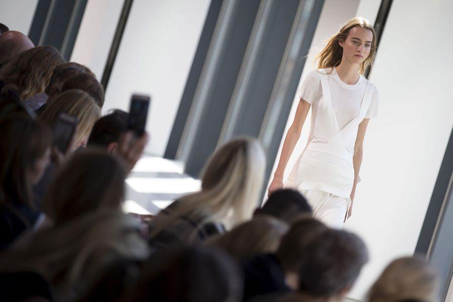 Le défilé Calvin Klein à la Fashion week de New York
