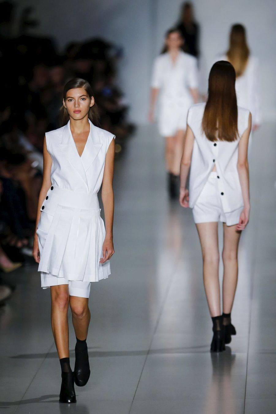 Le défilé DKNY à la Fashion week de New York