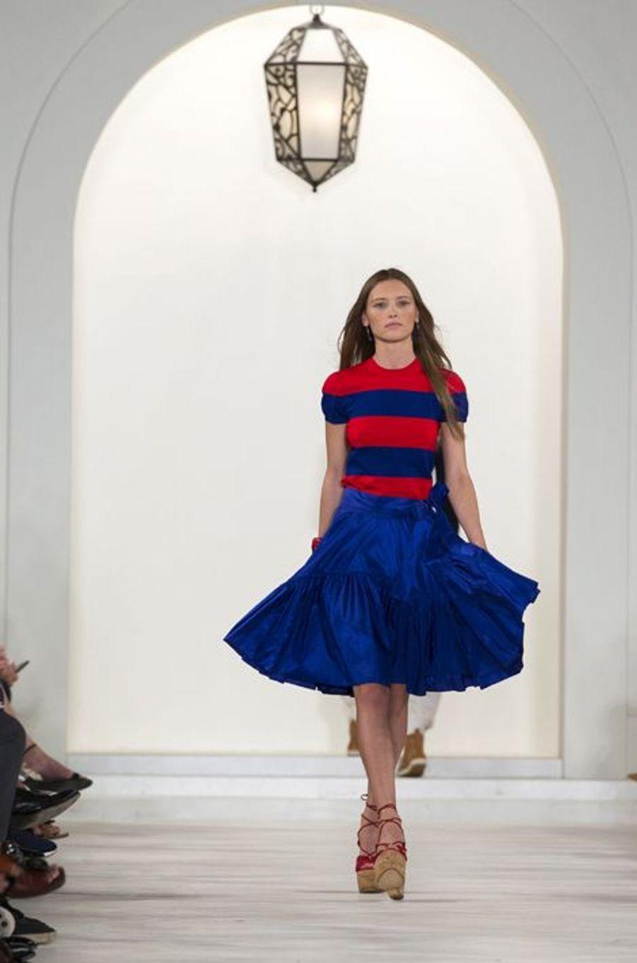 Le défilé Ralph Lauren à la Fashion week de New York