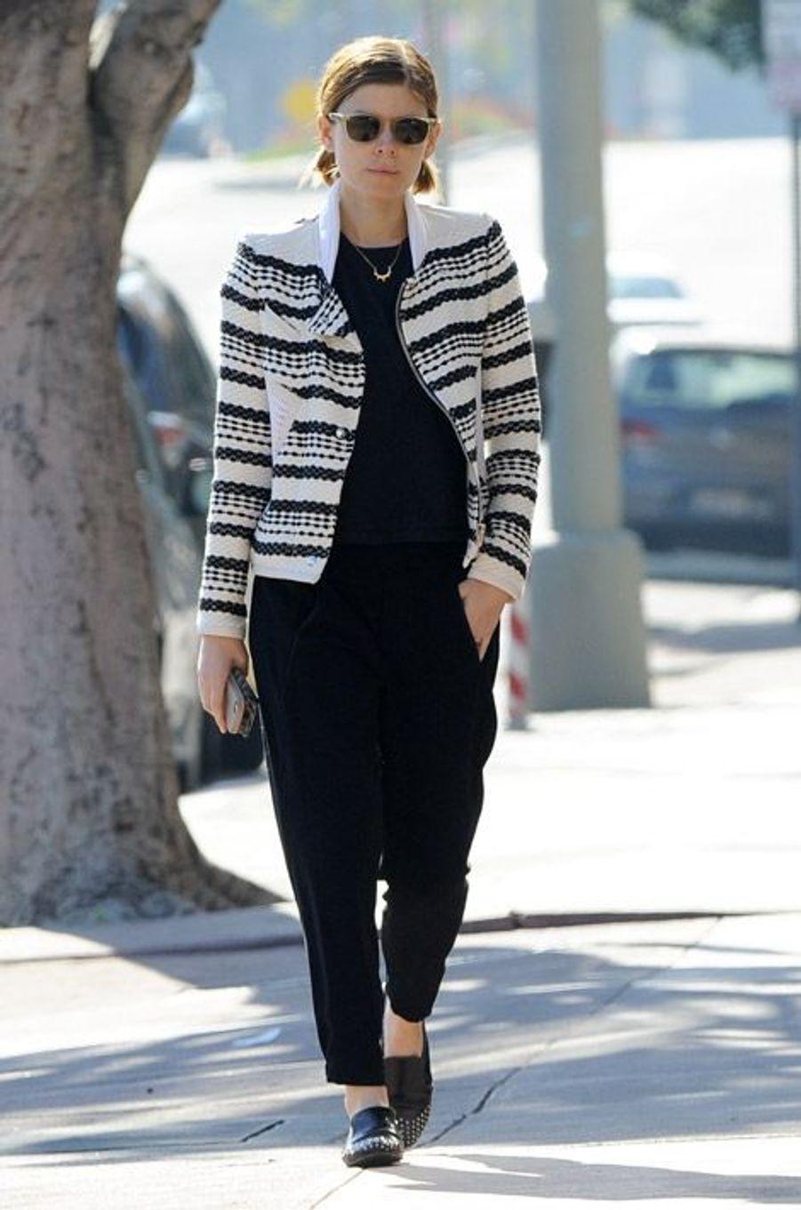 L'actrice Kate Mara dans les rues de Los Angeles, le 3 janvier 2015