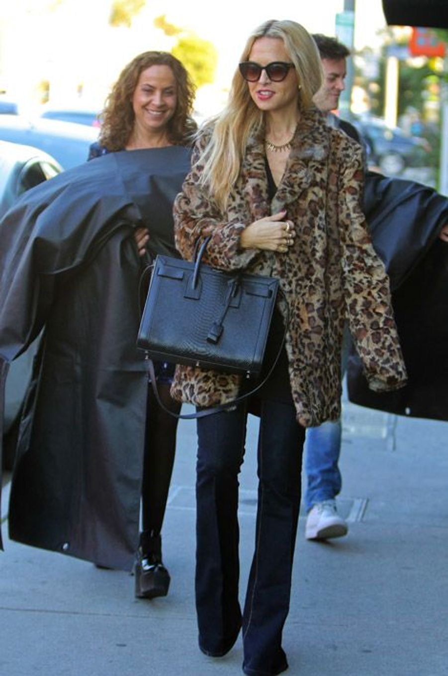 La styliste Rachel Zoe à Los Angeles, le 2 janvier 2015