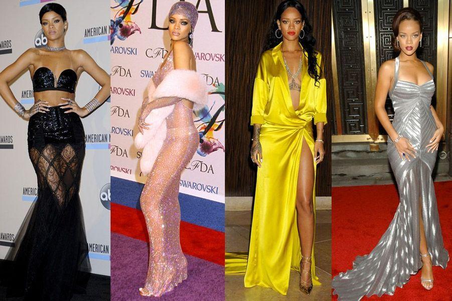 Rihanna : star sexy et glamour, retour sur ses looks les plus hots de la nouvelle égérie Dior