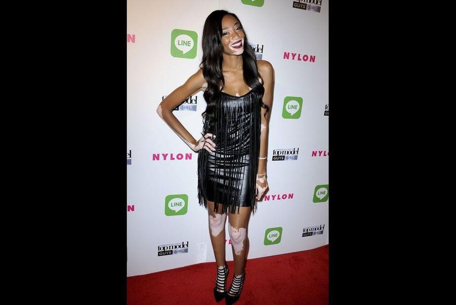 Lors d'une soirée America's Next Top Model, en août 2014 à Los Angeles