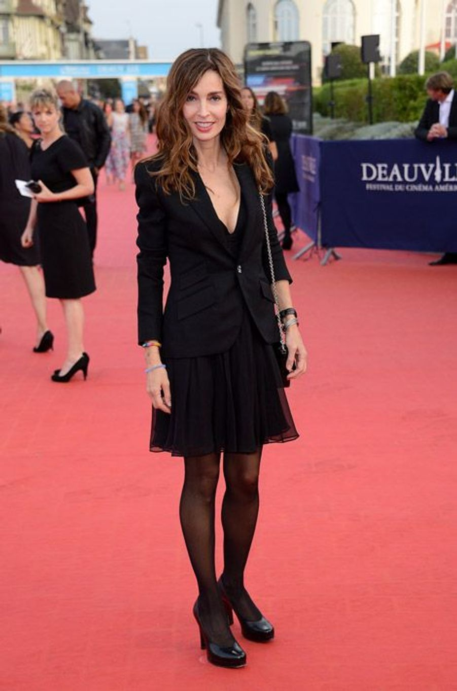 835d59c82f Anne Parillaud lors de la cérémonie de clôture du festival du cinéma  américain de Deauville,