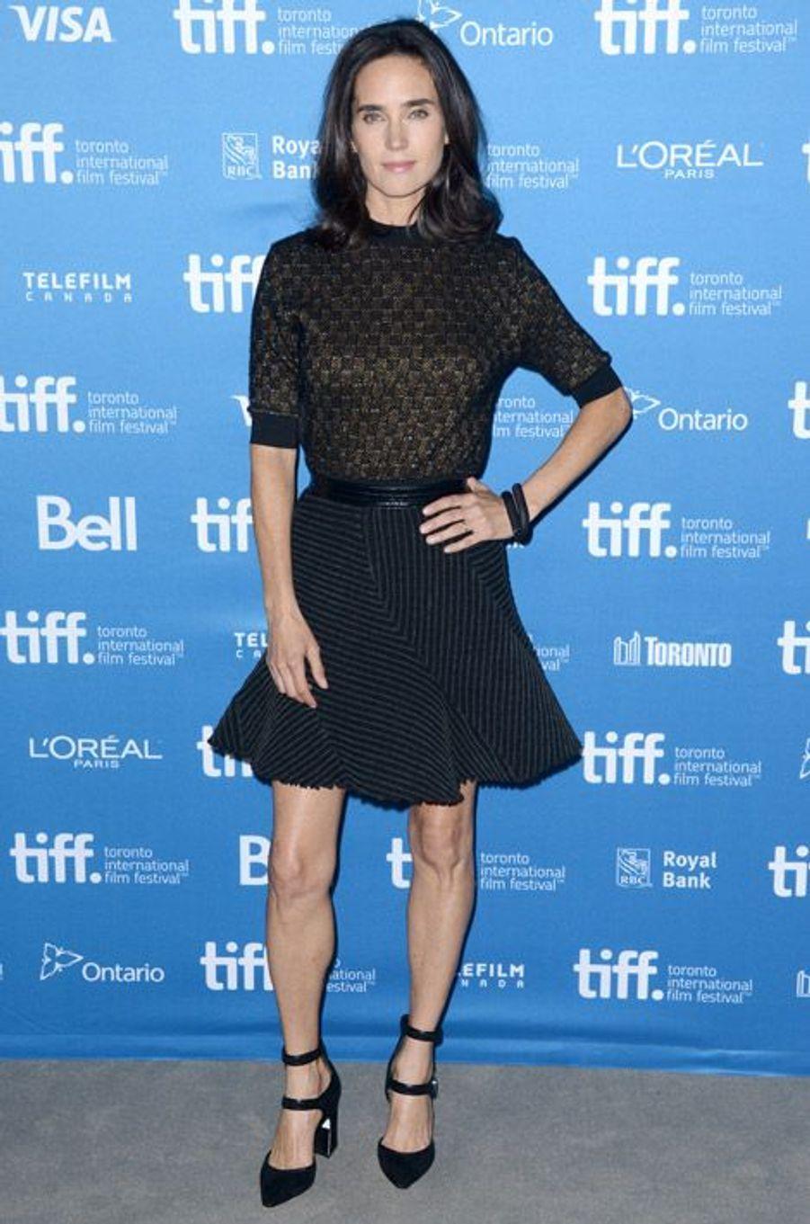 L'actrice Jennifer Connelly lors du photocall du film Shelter au festivail du film de Toronto, le 12 septembre 2014