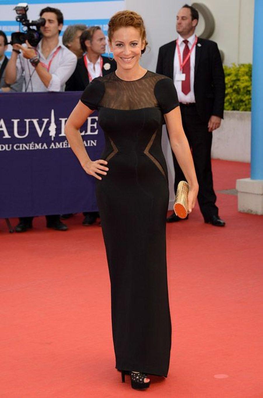 La réalisatrice Audrey Dana au festival du cinéma américain de Deauville, le 13 septembre 2014