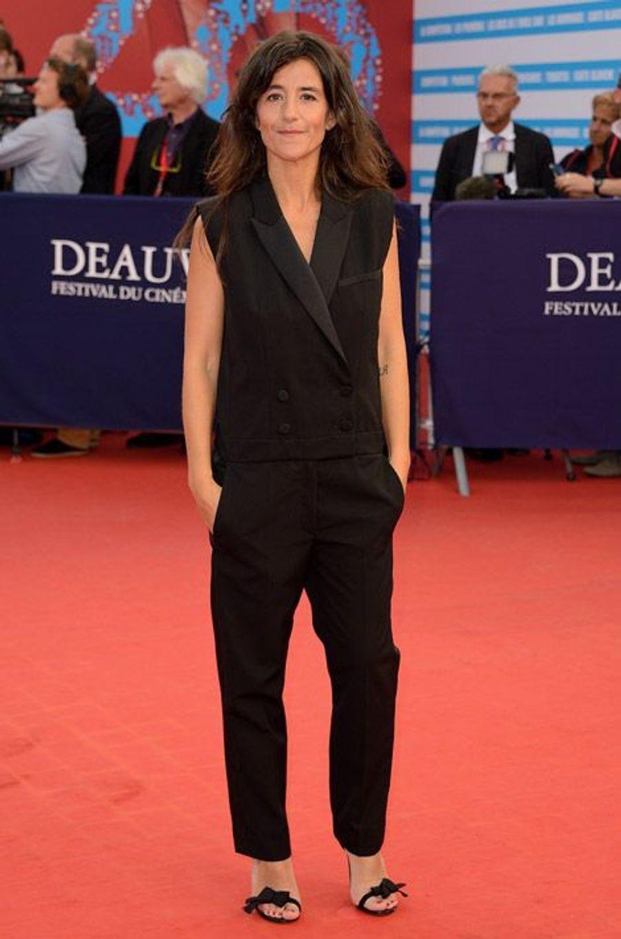 Romane Bohringer lors de la cérémonie de clôture du festival du cinéma américain de Deauville, le 13 septembre 2014