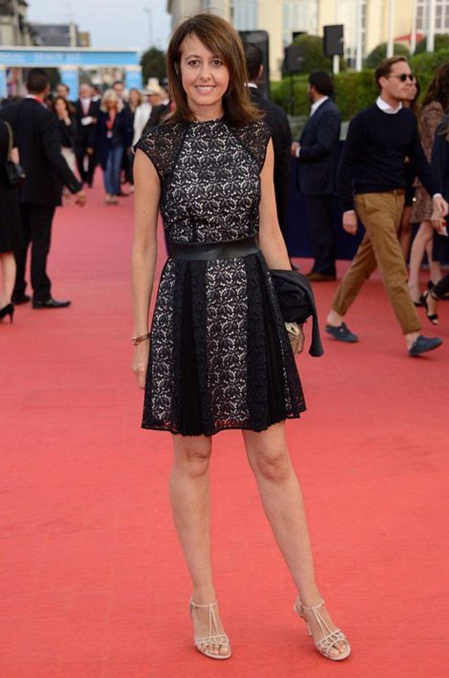 Valérie Bonneton lors de la cérémonie de clôture du festival du cinéma américain de Deauville, le 13 septembre 2014