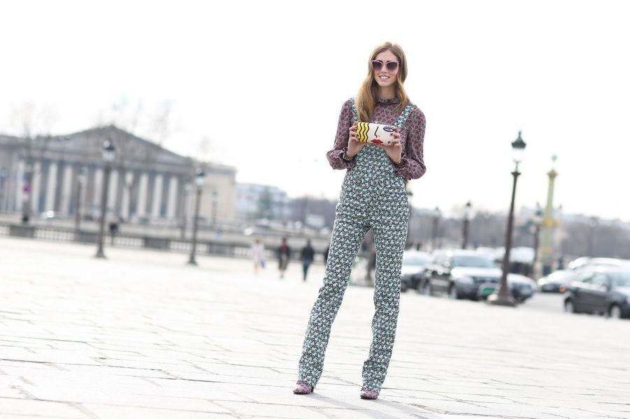 Chiara Ferragni à la Fashion Week de Paris
