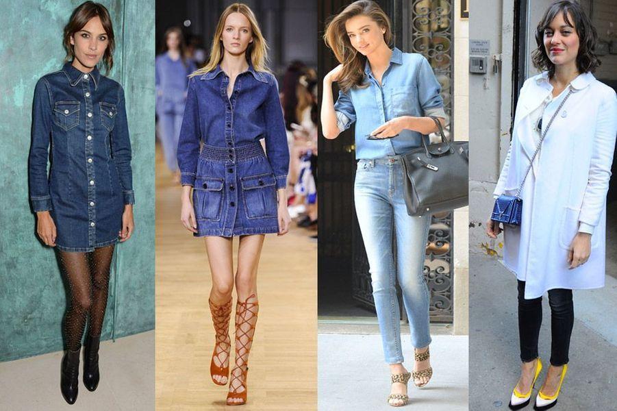 Tendance 2015 : adoptez le jean sous toutes ses formes