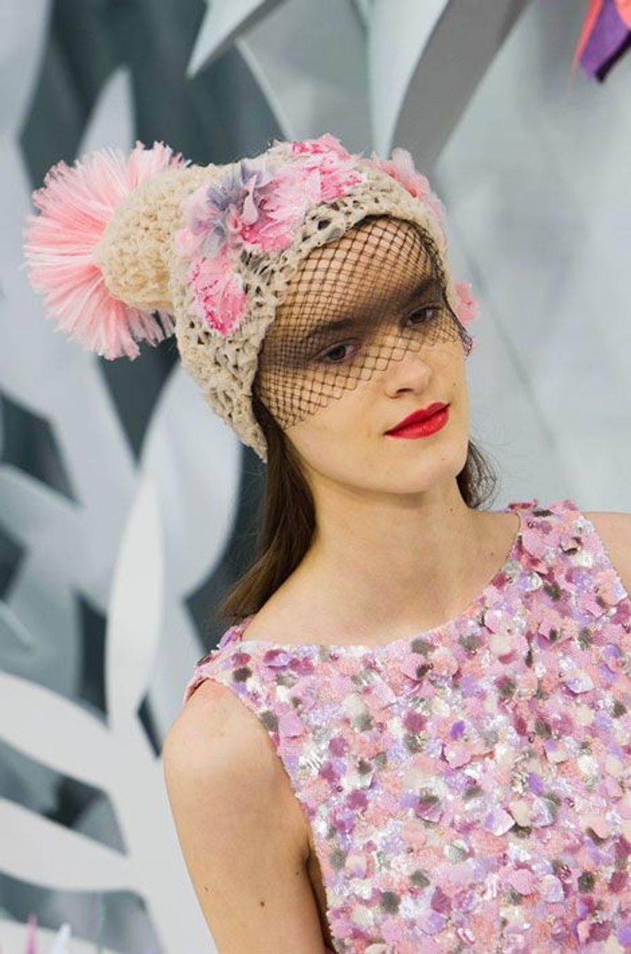 Défilé Chanel Haute Couture printemps-été 2015 à Paris, le 27 janvier 2015