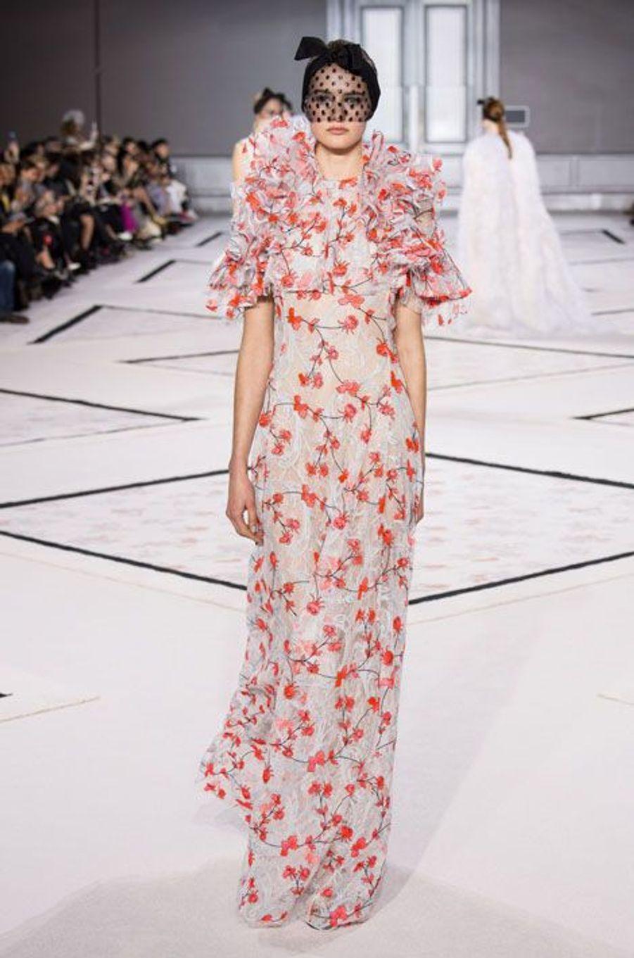Défilé Giambattista Valli Haute Couture printemps-été 2015 à Paris, le 26 janvier 2015