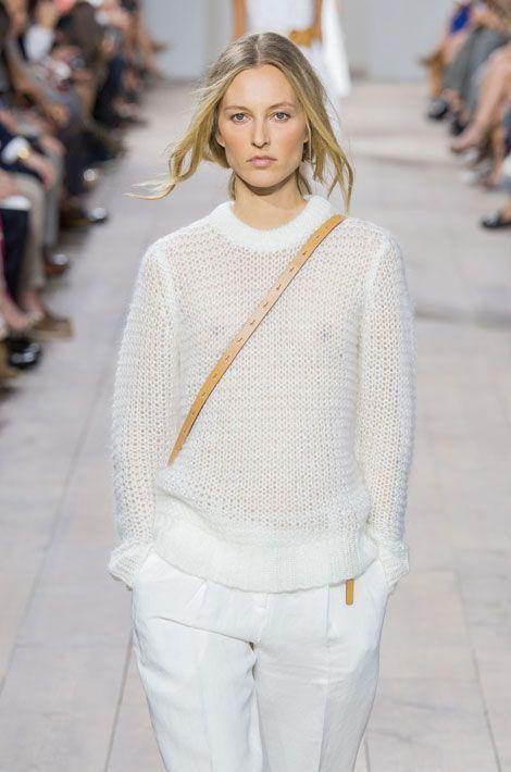 Défilé Michael Kors printemps-été 2015 pendant la Fashion Week de New York, le 10 septembre 2014