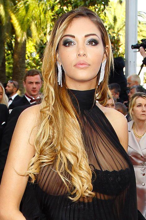 La starlette Nabilla, lors du festival de Cannes, le 18 mai 2014
