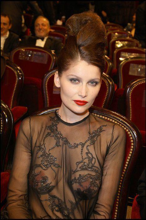 Laetitia Casta lors de la cérémonie des César en 2010