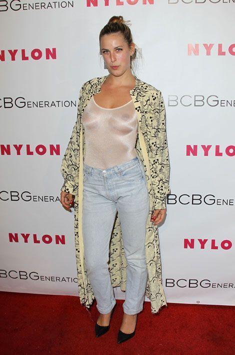 Scout Willis, la fille de Bruce Willis, participe à une soirée organisée par Nylon Magazine à Hollywood, le 8 mai 2014