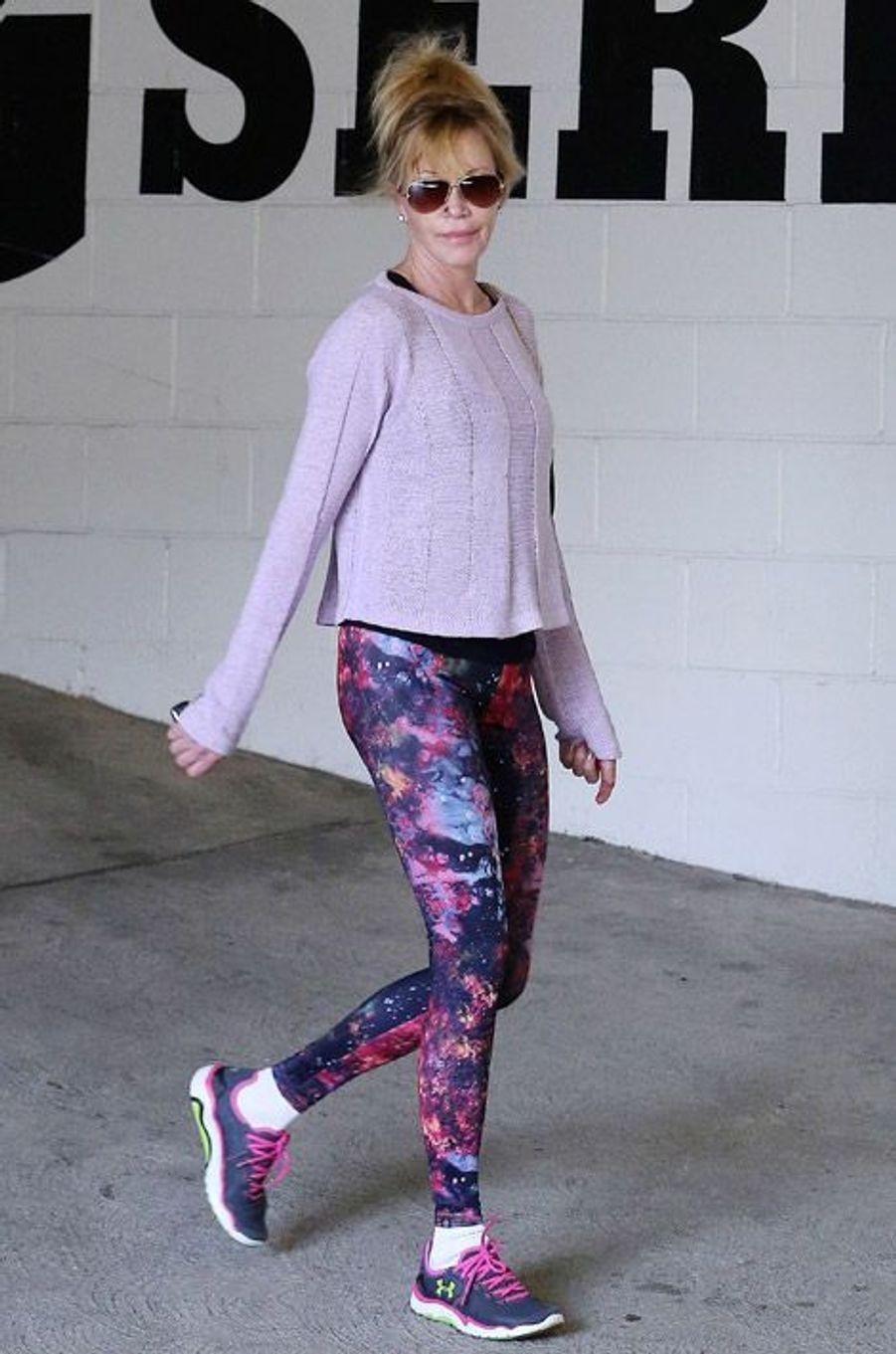 L'actrice Melanie Griffith à Los Angeles en janvier 2015