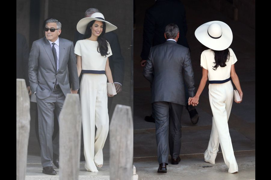Les tenues portées par Amal Alamuddin avant son mariage à George Clooney (ici, Stella McCartney)