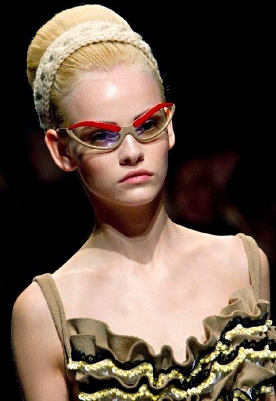 Des lunettes signées Prada