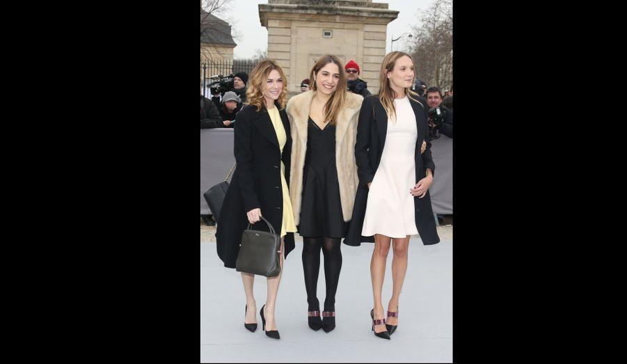 Marie-Josée Croze, Izia Higelin et Ana Girardot